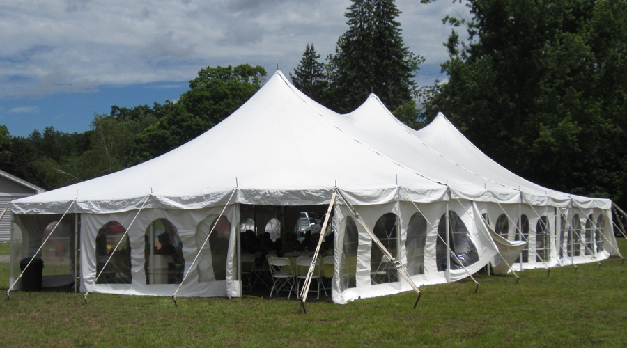 Beautiful Day in the great outdoor tent